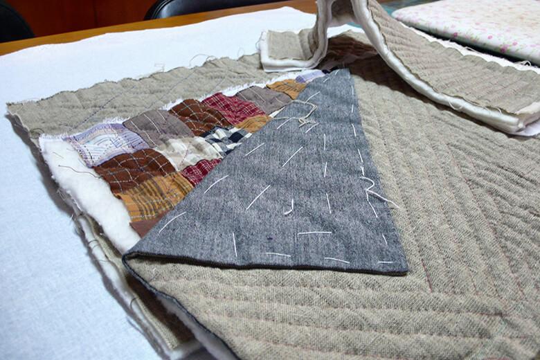 Telas bolso de patchwork